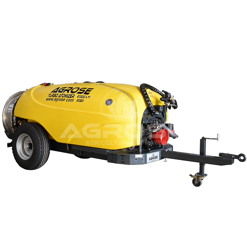 Trailed Type Turbo Atomizer 2000 Liter 90 Cm.