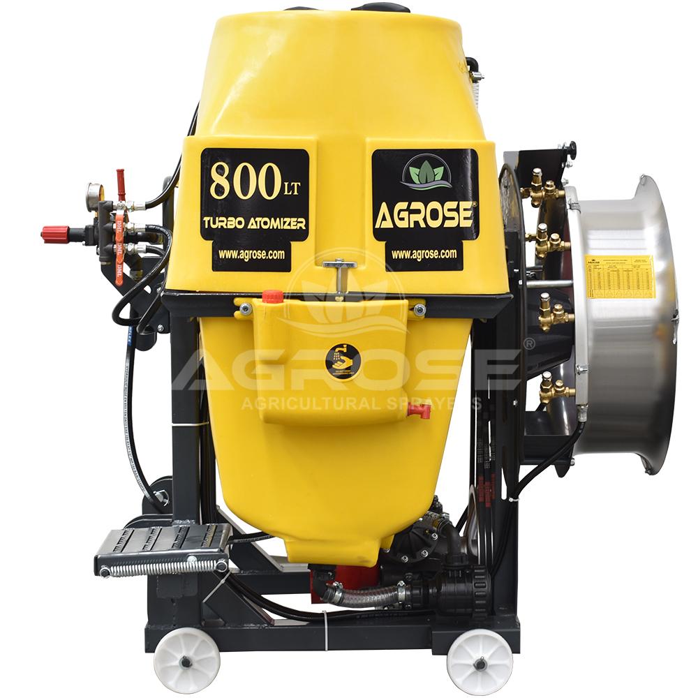 Mounted Type Turbo Atomizer 800 Liter 60 Cm.