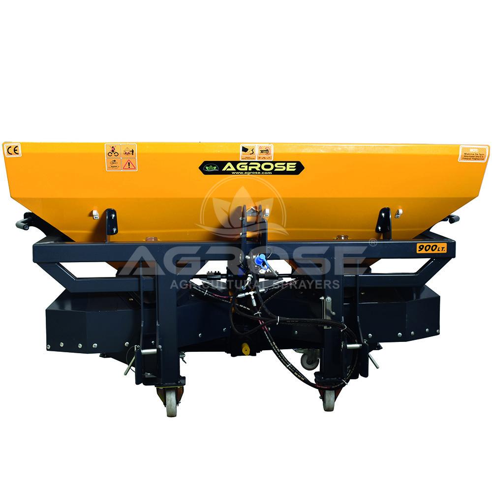 Asılır Tip 900 Lt. Yatay Karıştırıcılı Gübre Serpme Makinesi