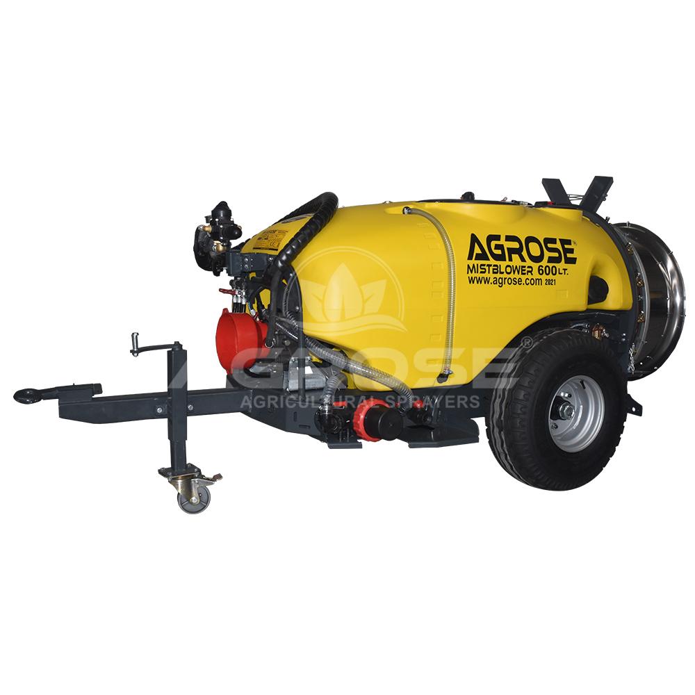 Trailed Type Turbo Atomizer 600 Liter 60 Cm.