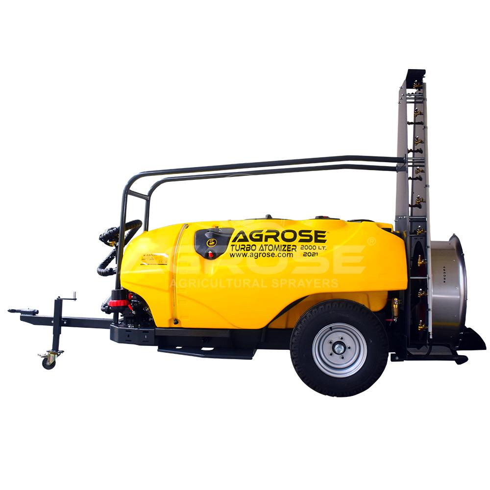 Trailed Type Turbo Atomizer 2000 Liter  Tower Model