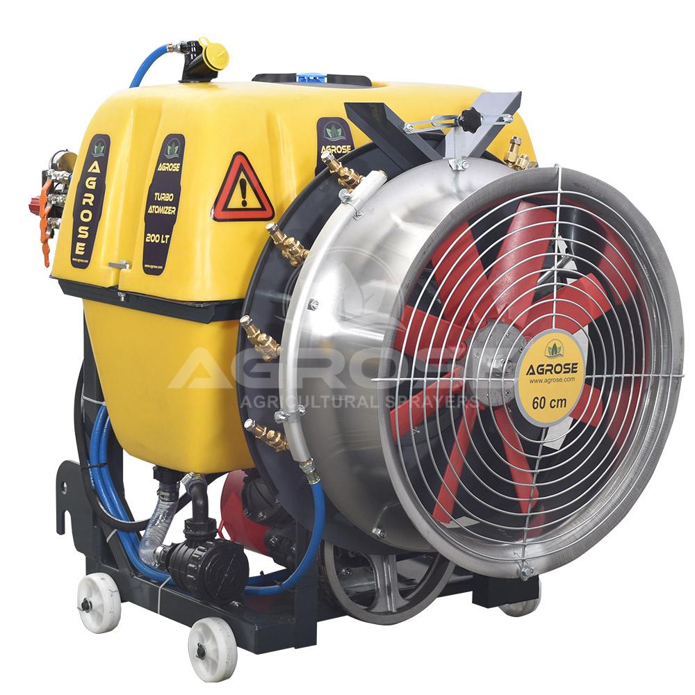 Asılır Tip Turbo Atomizer 300 Litre 60 Cm