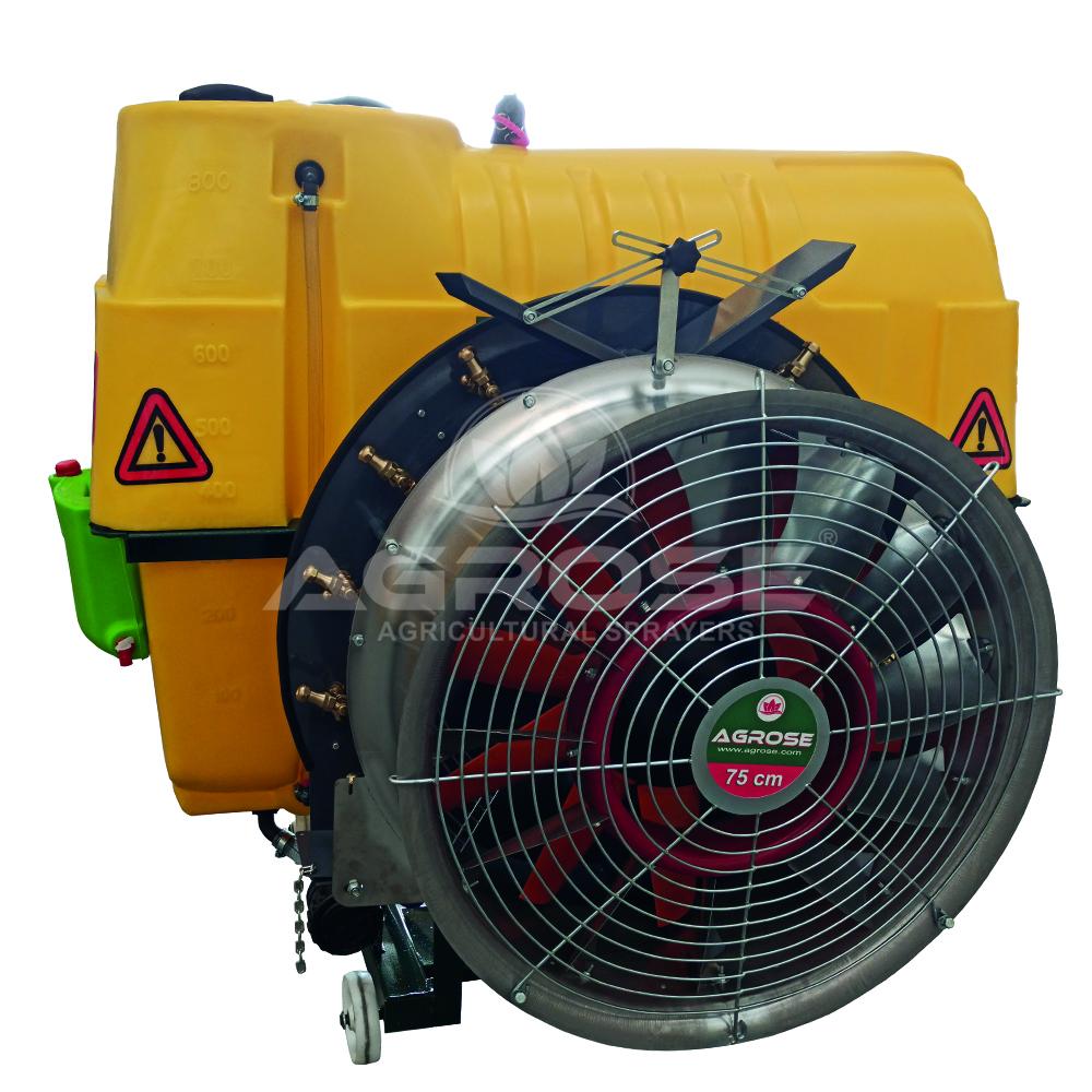 Подвесные Опрысливатель  С вентилятором  800 литров 75  См.