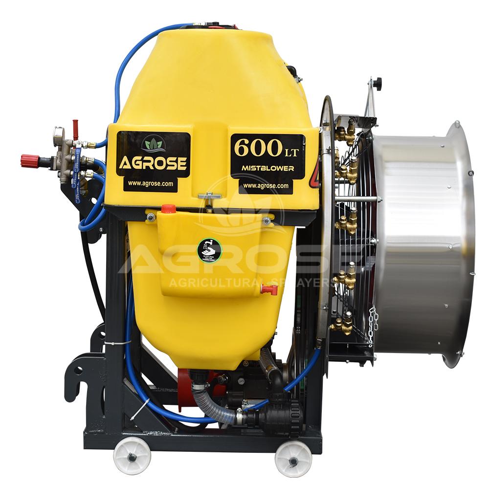 Mounted Type Turbo Atomizer 600 Liter 75 Cm.