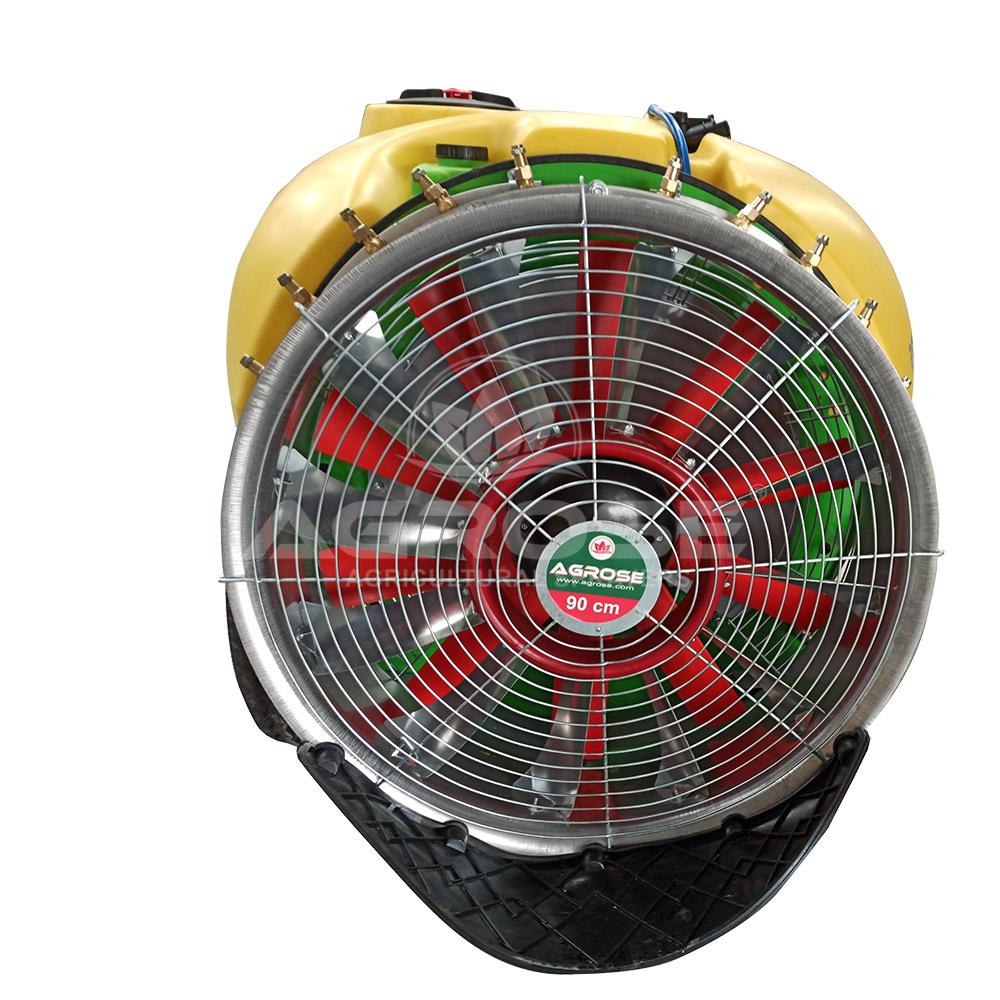 Прицепной Опрысливатель  С вентилятором  2000 литров 90 См.