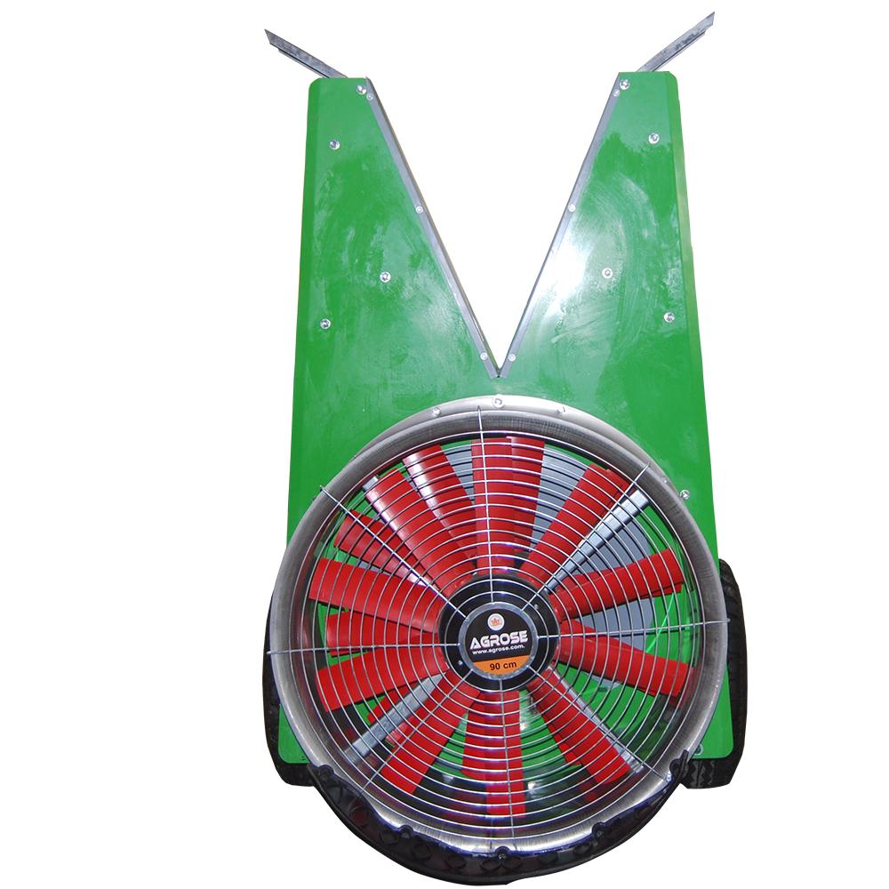 Прицепной Опрысливатель С вентилятором 1000 литров 90 См. Модель V