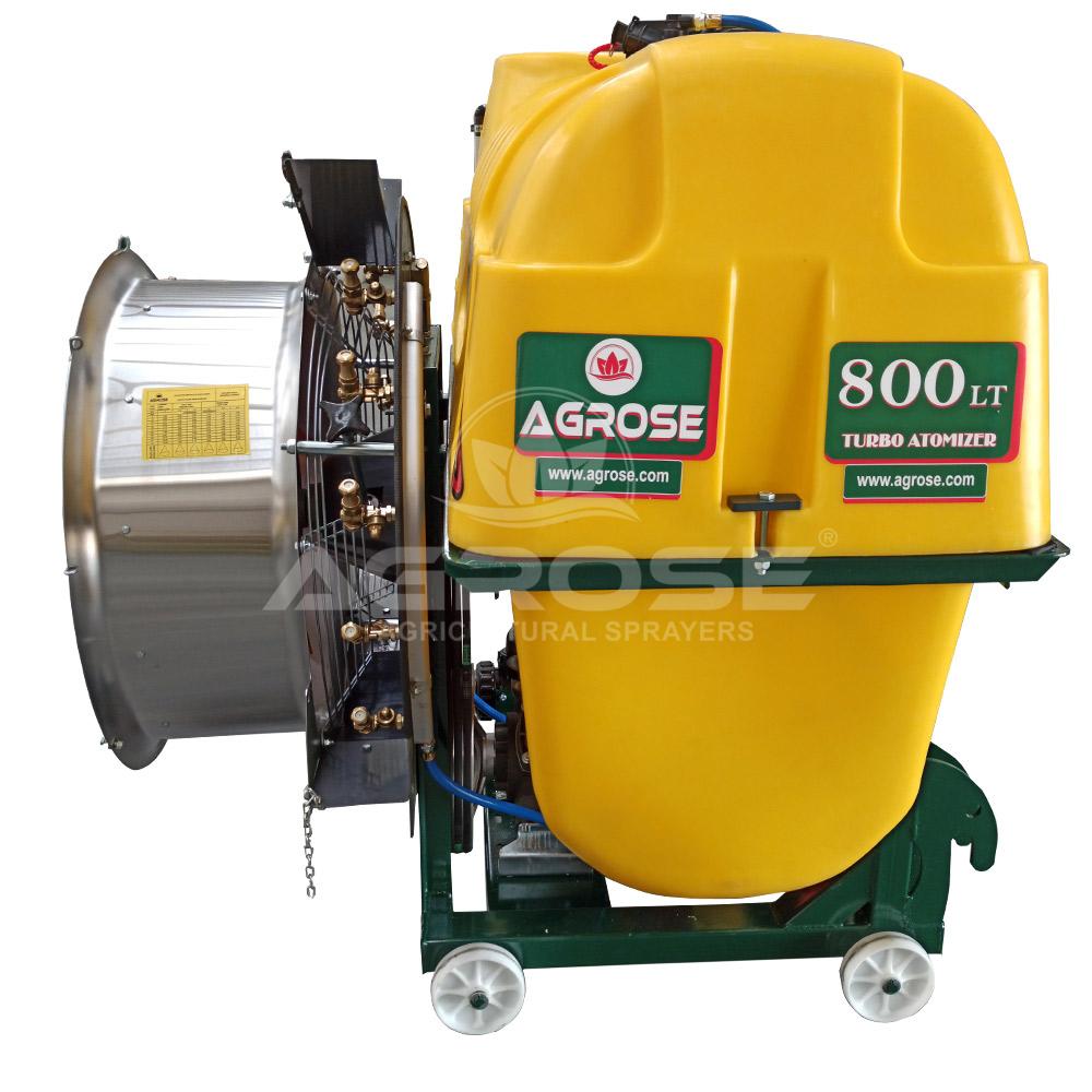Asılır Tip Turbo Atomizer 800 Litre 75  Cm.
