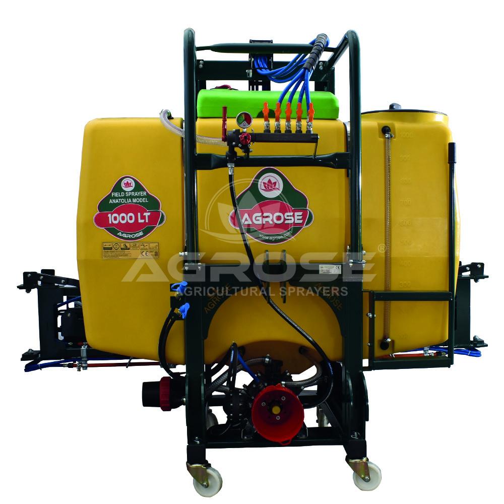 Pulverizadores Suspendido Con Elevador Hidraulico 1000 Lt / Barra 16 Mt.