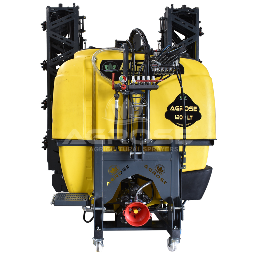 Asılır Tip Full Hidrolik Anatolia Model Tarla Pülverizatörü 1200 Lt 18 Mt. U tip Kanat