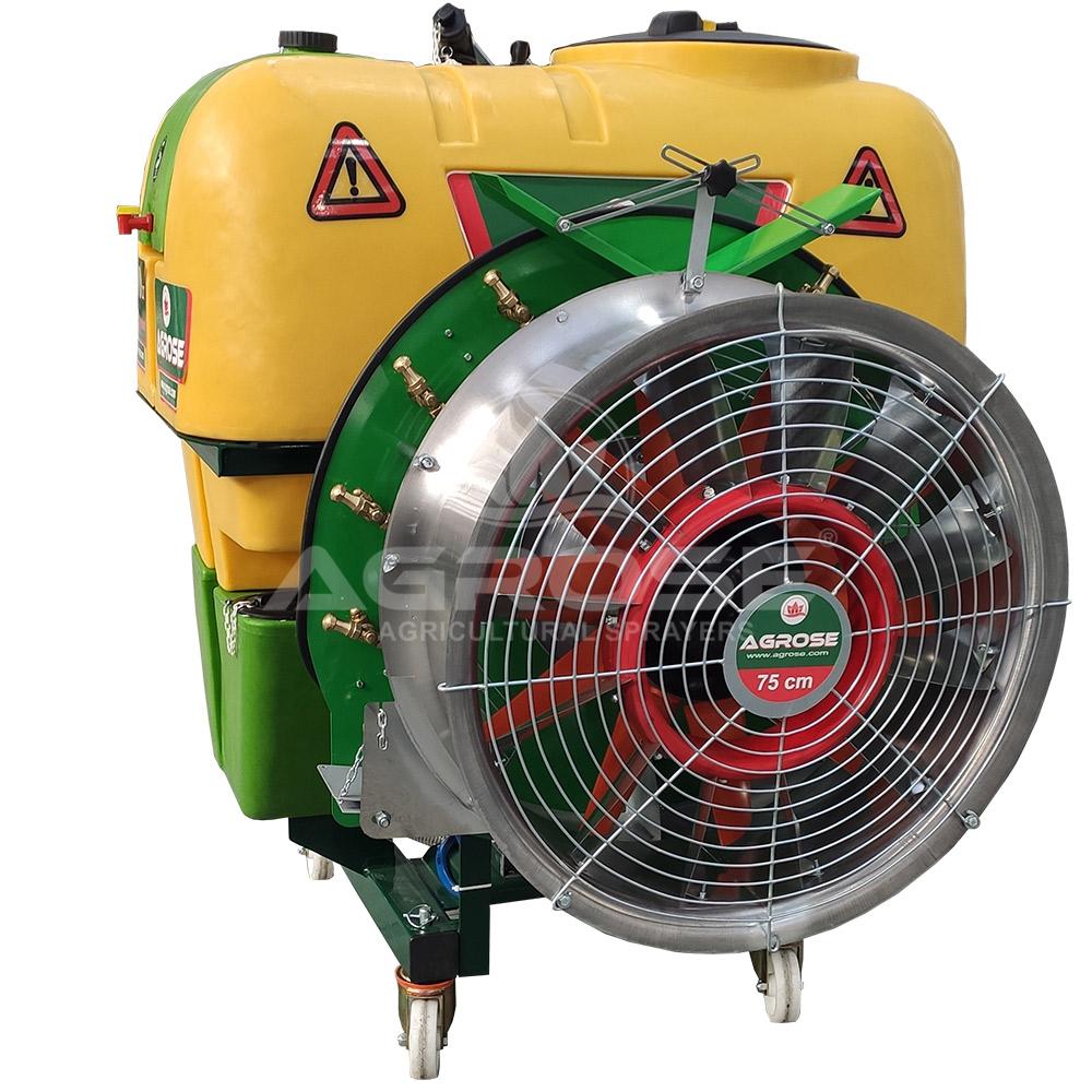 Подвесные Опрысливатель  С вентилятором  600 литров 75 См. Трио Модель