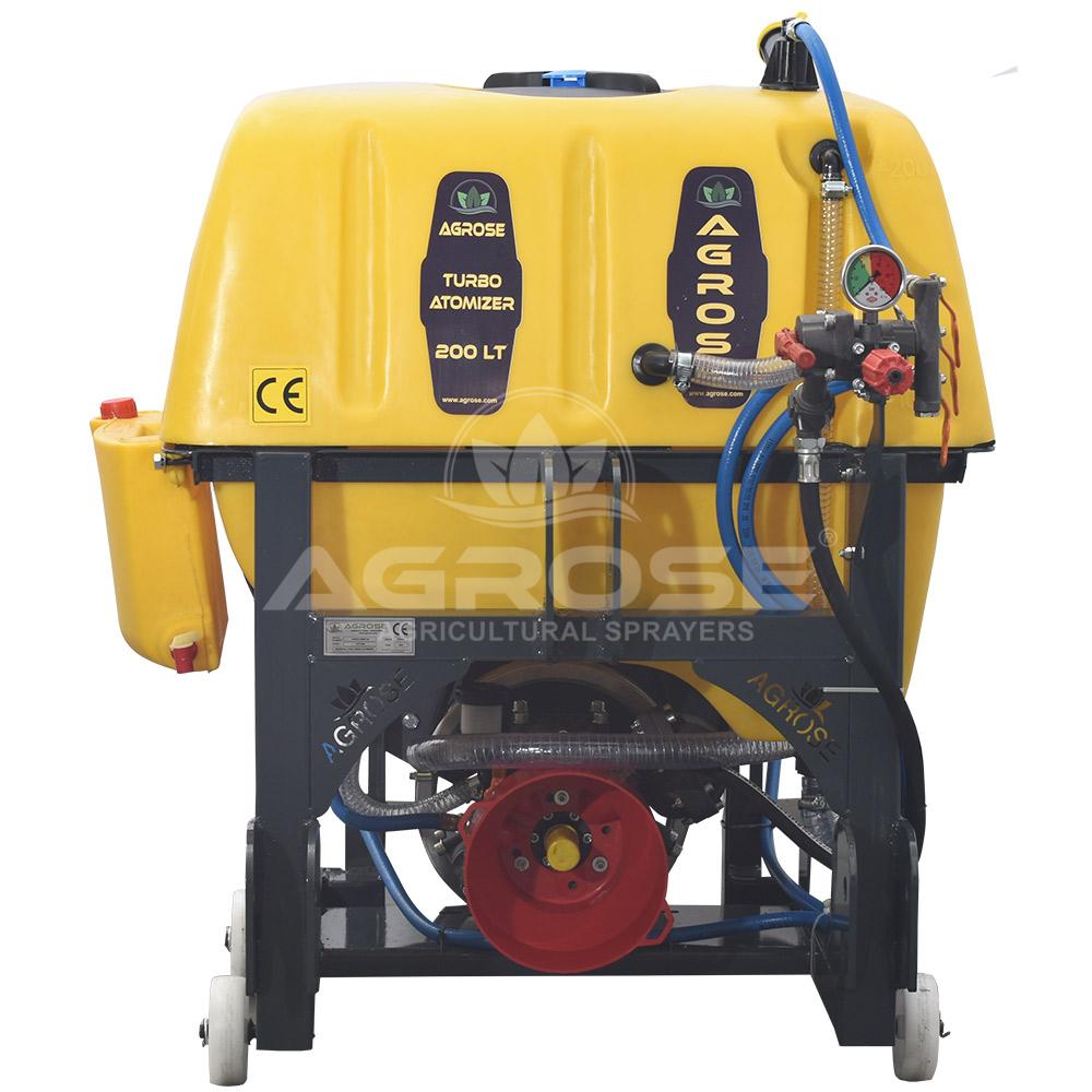 Asılır Tip Turbo Atomizer 200 Litre 60 Cm