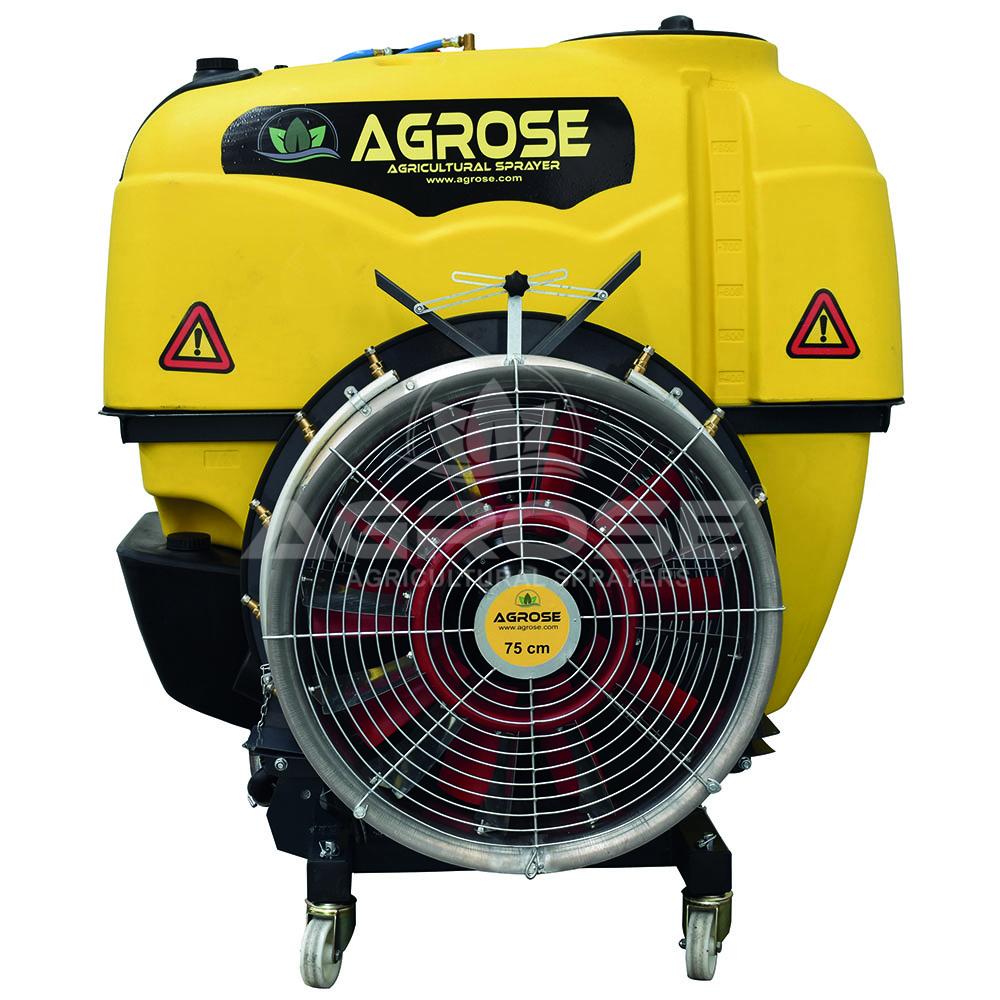 Asılır Tip Turbo Atomizer 1000 Litre 75 Cm.Şanzımanlı