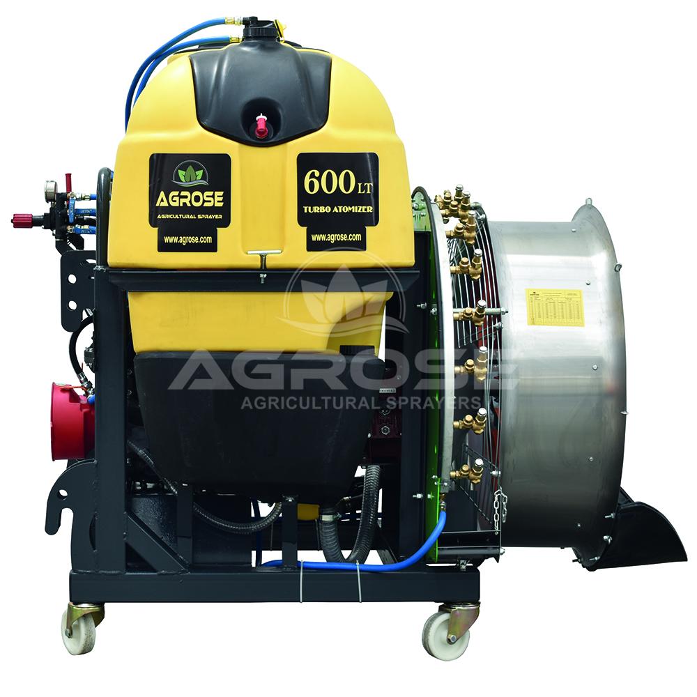 Mounted Type Turbo Atomizer 600 Liter 90 Cm
