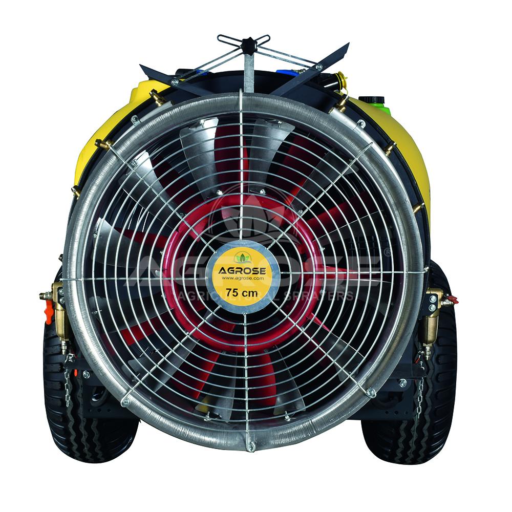Çekilir Tip Turbo Atomizer 1000 Litre 75 Cm.
