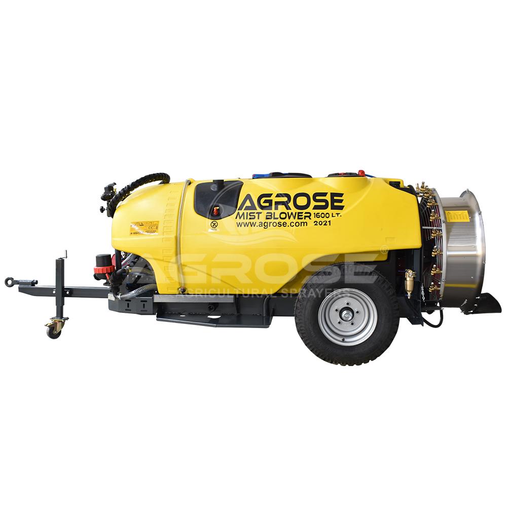 Trailed Type Turbo Atomizer 1600 Liter  90 Cm.