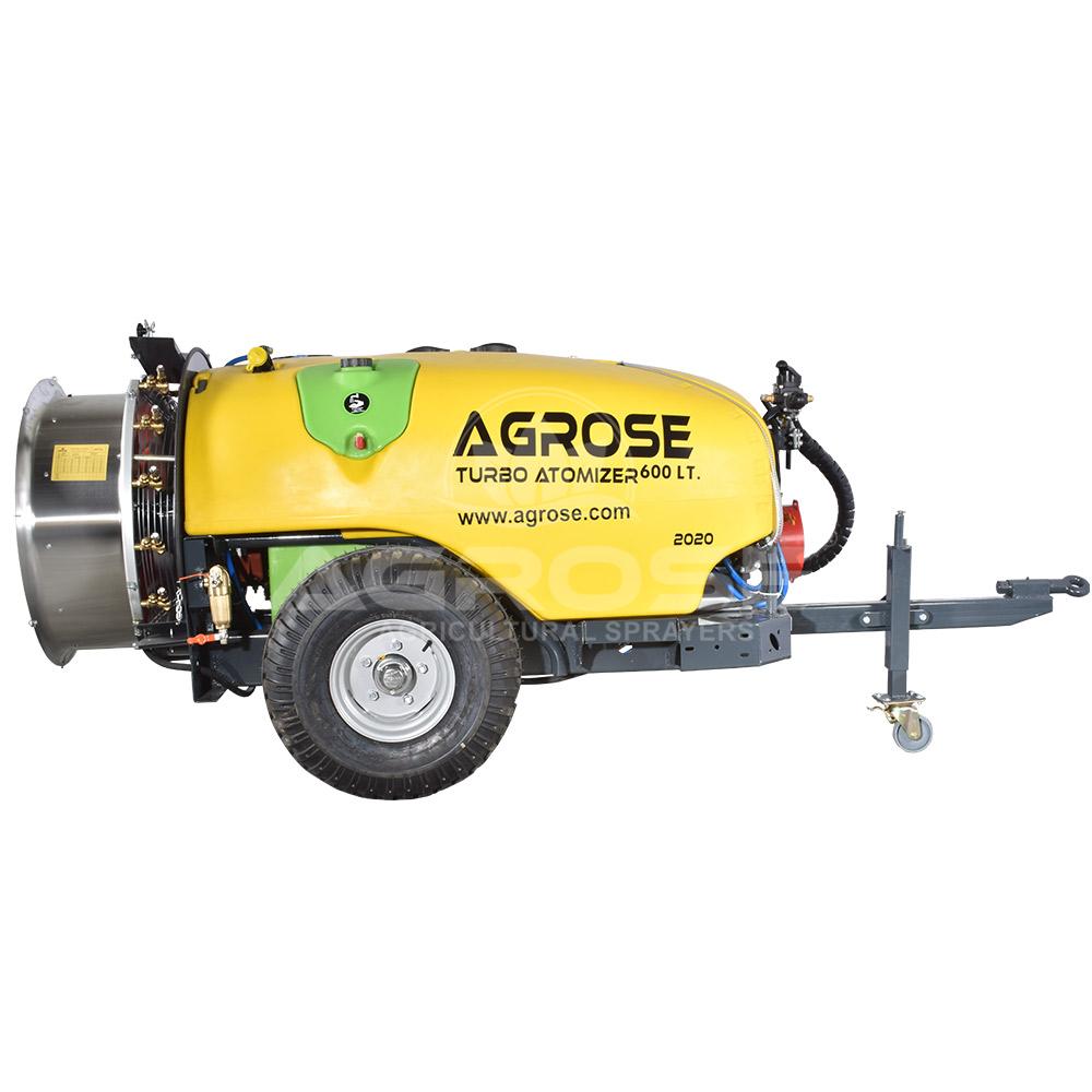 Çekilir Tip Turbo Atomizer 600 Litre 60 Cm.