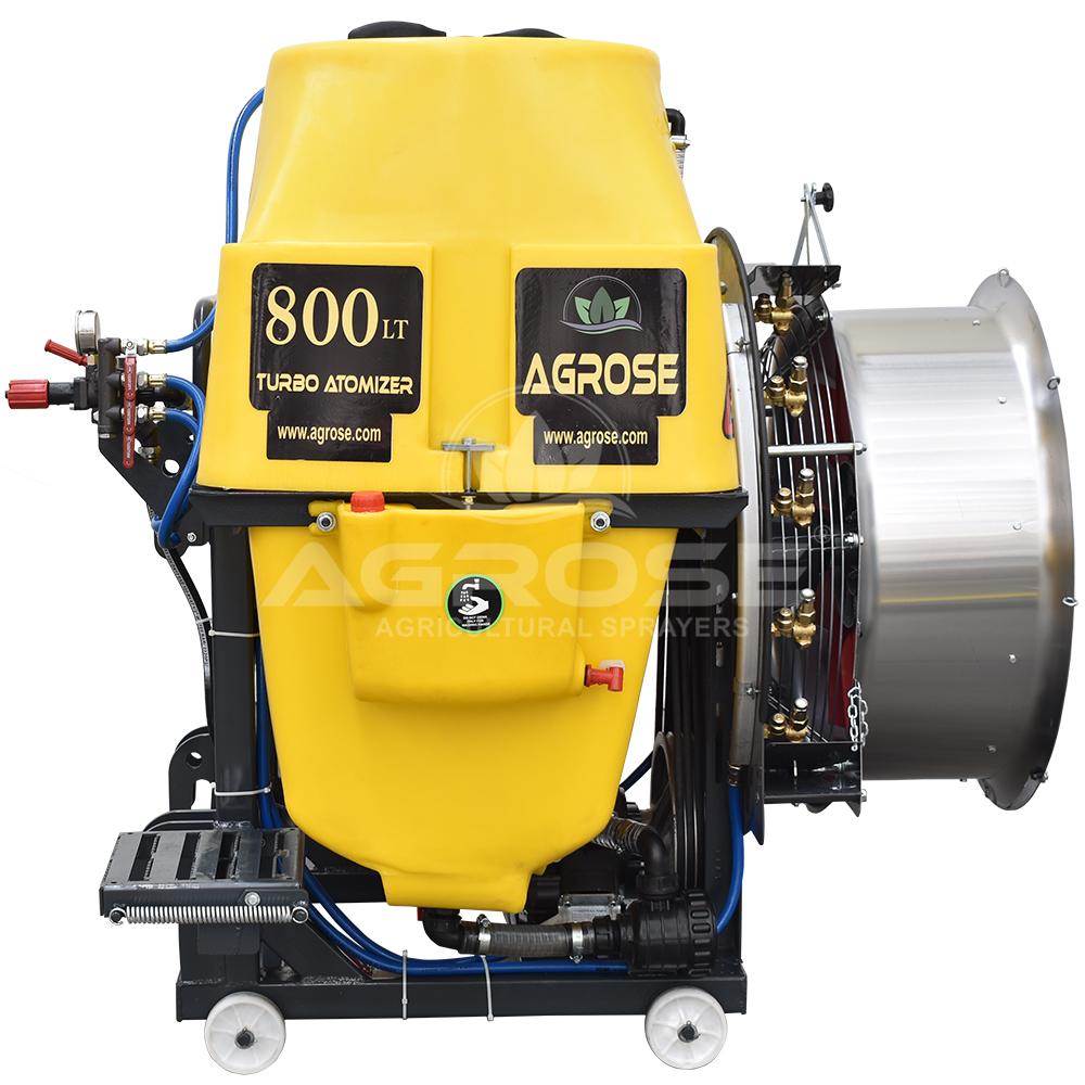 Mounted Type Turbo Atomizer 800 Liter 75 Cm.