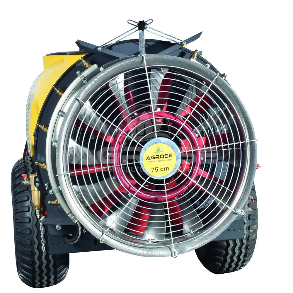 Çekilir Tip Turbo Atomizer 600 Litre 75 Cm.