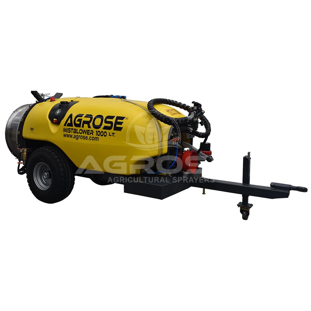 Trailed Type Turbo Atomizer 1000 Liter 75 Cm.