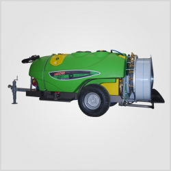 Trailed Type Turbo Atomizer 1600 Liter 90 Cm. - Polythene